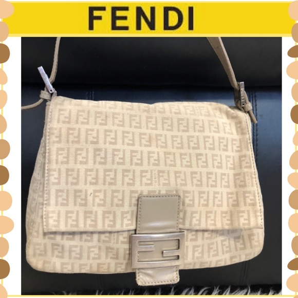 Authentic FENDI MAMMA BAGUETTE Bag